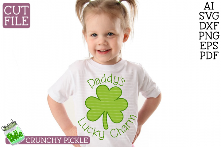 Daddys Lucky Charm SVG File