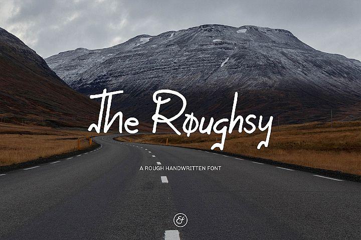 The Roughsy - Handwritten Font