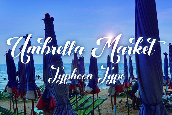 Umbrella Market font