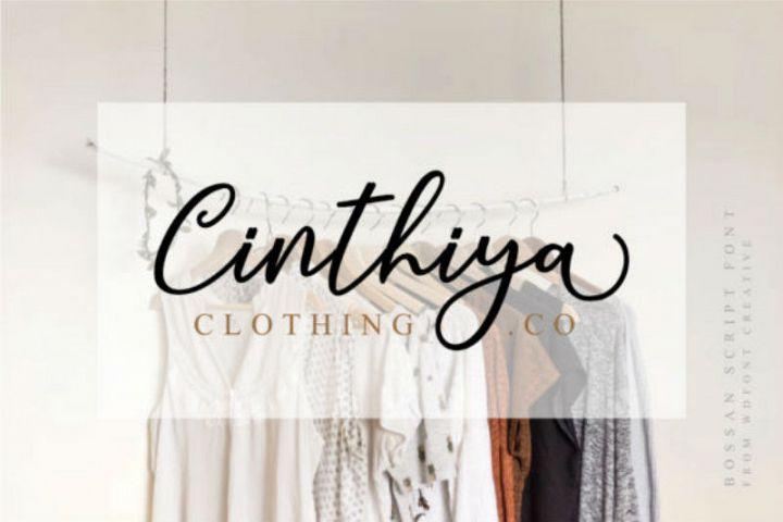Cinthiya Font