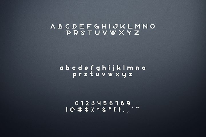 Boxo Font example 6
