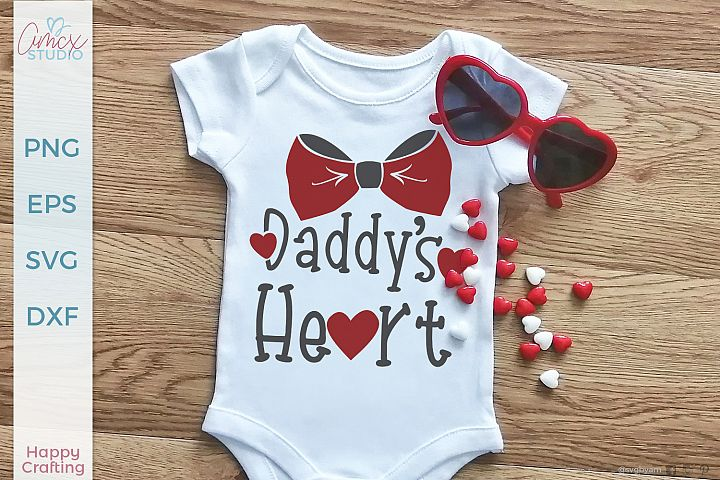 Daddys Heart - Valentines Day Craft File