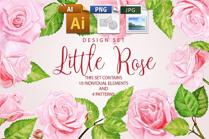 Little Rose Design Set