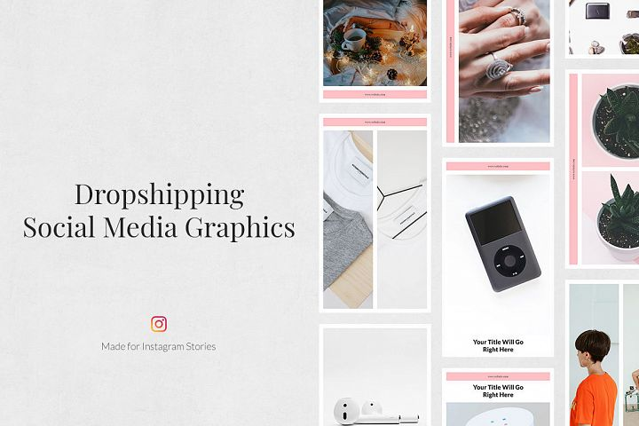 Dropshipping Instagram Stories