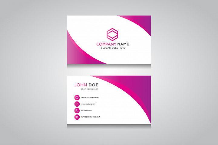 Business Card Template. creative business card