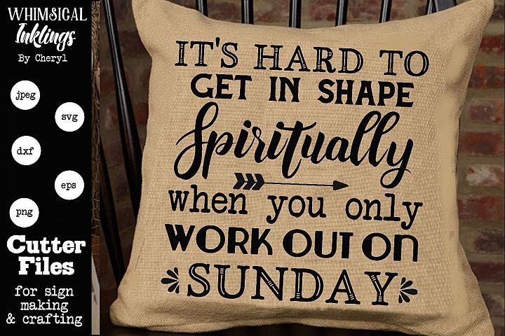 Spiritually Sample