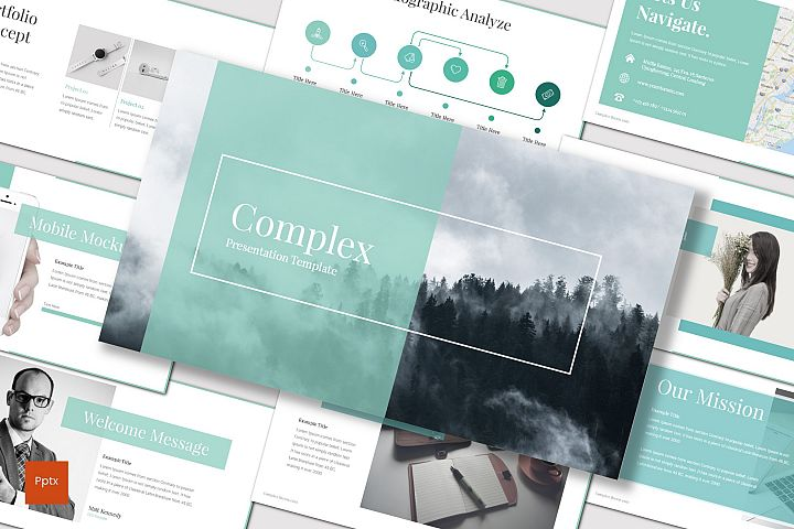 Complex - Powerpoint Template