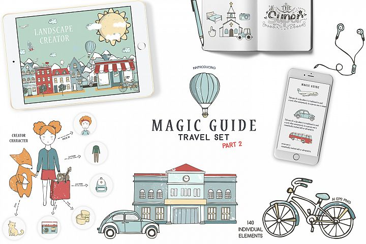 Magic Guide Travel Kit Part 2