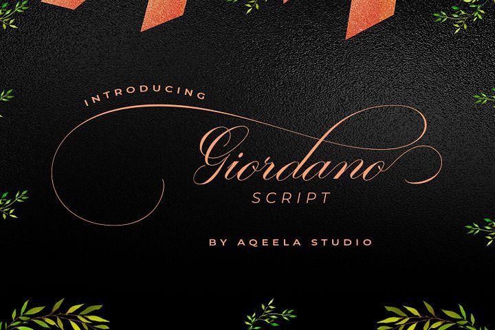 Giordano Script