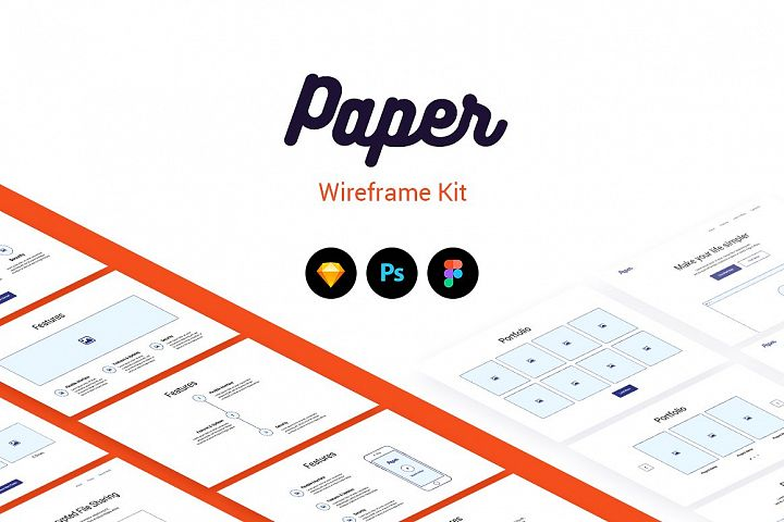 Paper Wireframe Kit