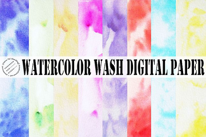 Pastel Watercolor Wash Textures