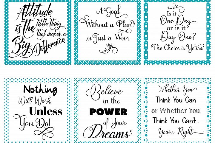 Social Media Graphics - Set 1 Teal