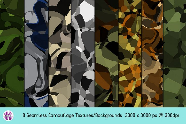 Camouflage Bundle - Backgrounds - Textures
