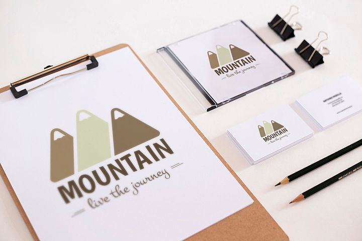 Mountain Logo Template example 5