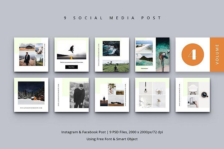 Social Media Post Vol. 4