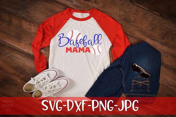 Baseball Mama, Baseball, SVG