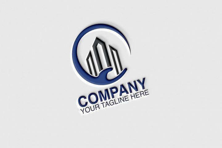 Building Hand Logo
