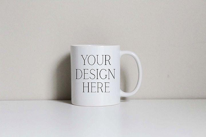 Basic 11 Ounce Mug Mockup