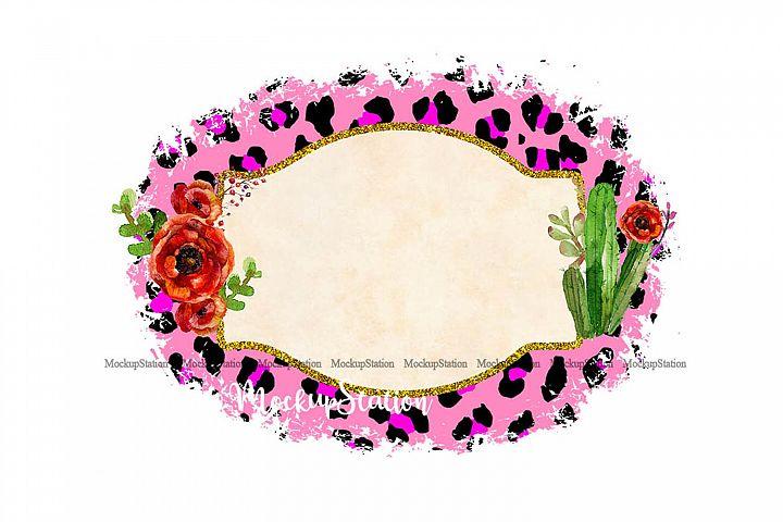 Sublimation Background Frame PNG, Planner Clip Art Frame