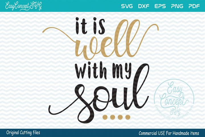 It is Well with my Souls SVG