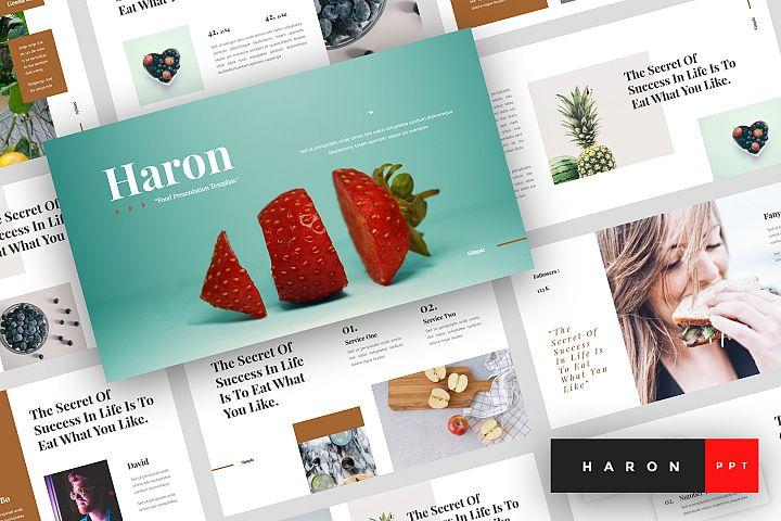 Haron - Food PowerPoint Template