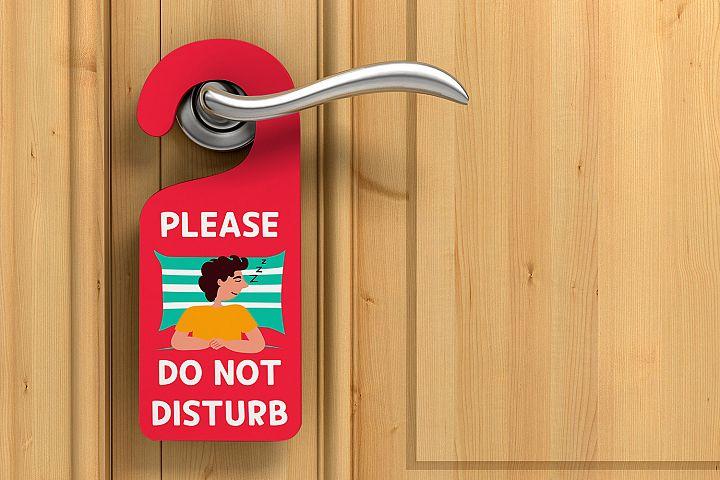Cute Digital Door Hanger