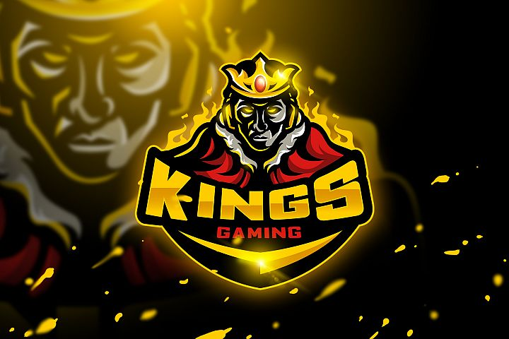 Kings Gaming - Mascot & Esport logo