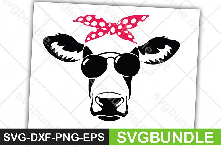 Cow Face SVG  Heifer SVG Farm SVG