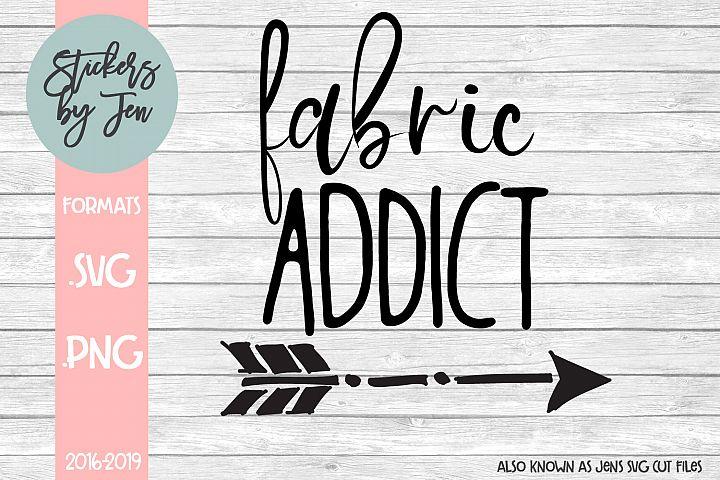 Fabric Addict SVG Cut File