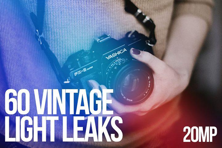 60 VINTAGE LIGHT LEAKS