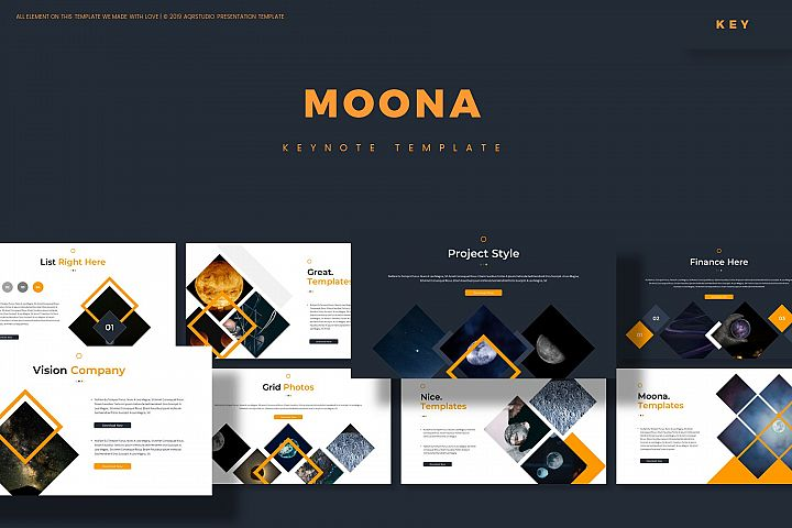 Moona - Keynote Template