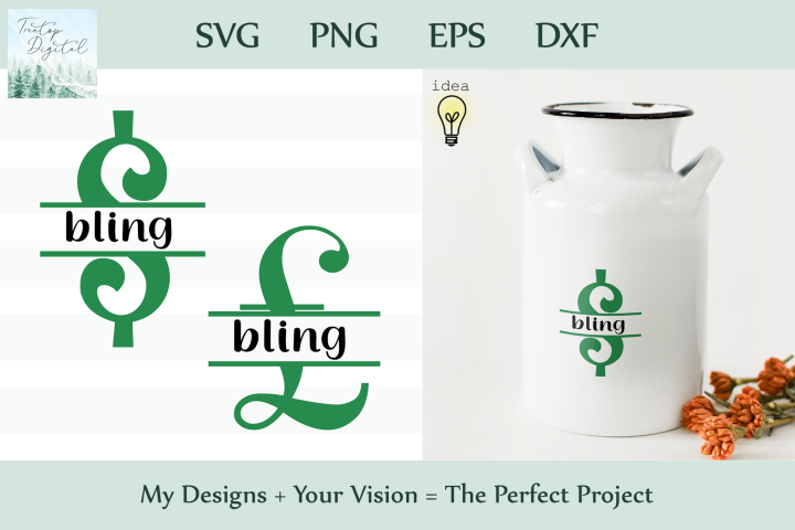 Saving for Bling Bank Design, Savings Series, SVG
