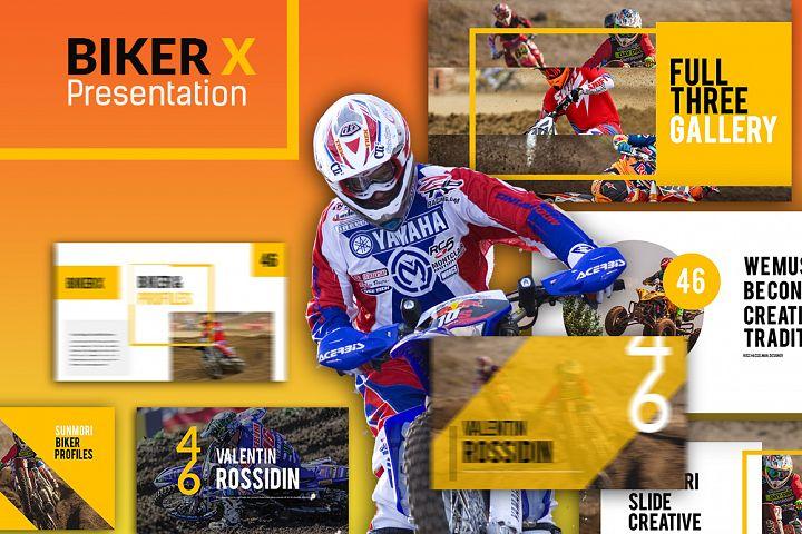 Biker X Powerpoint