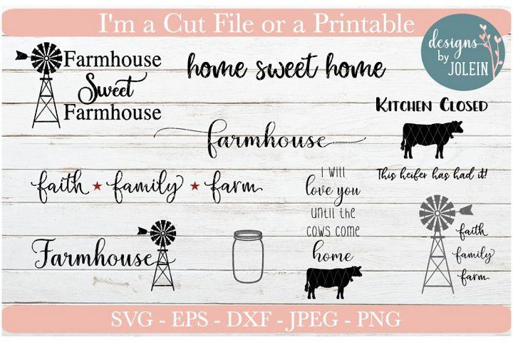 Farmhouse designs Bundle!