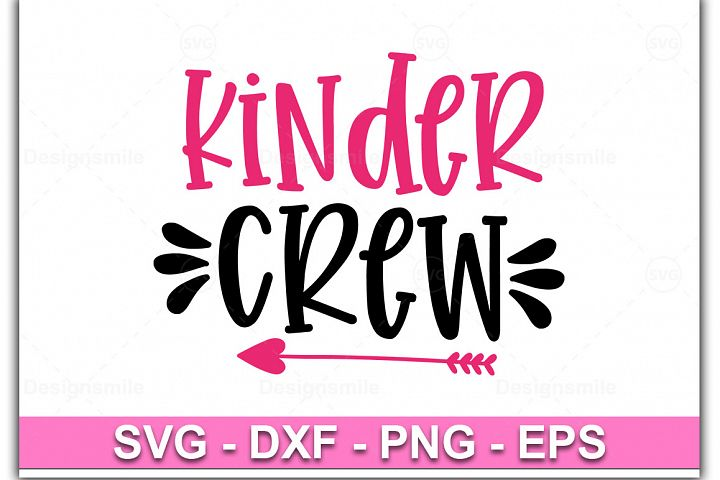 Kinder Crew svg, Kinder svg, dxf, png, instant download