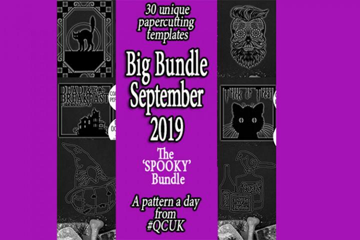 BigBundleSEP19 - 30 Halloween Templates jpg/png/ai/dxf/svg