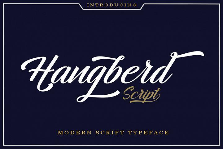 Hangberd Script