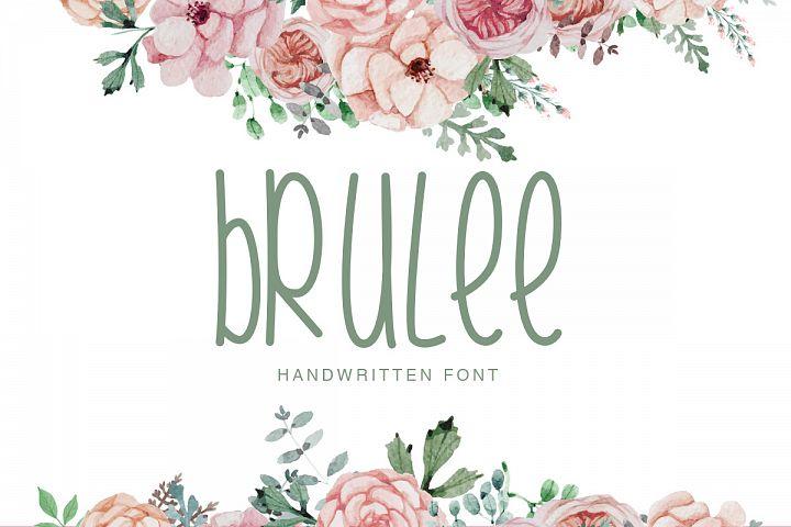 Brulee Font