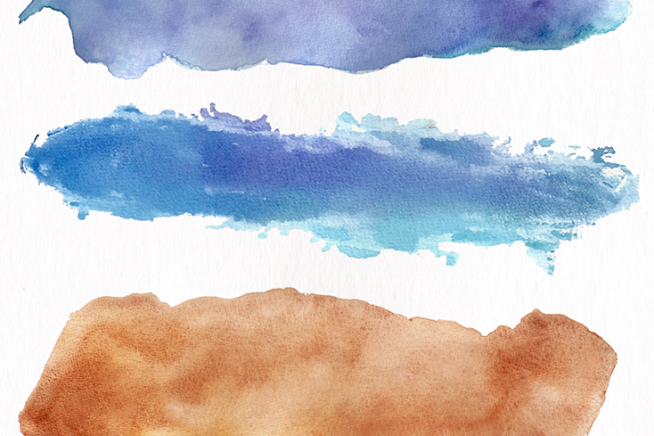 Watercolor Textures - card edition - Free Design of The Week Design 3