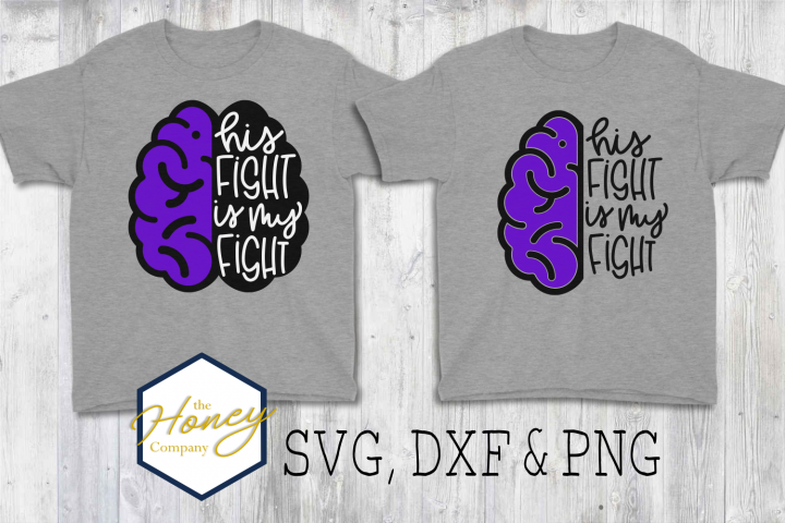 Epilepsy Awareness Seizure SVG PNG DXF Cutting File Fight