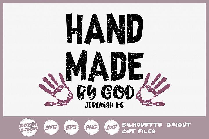 Bible SVG - Hand Made By God SVG - Christian SVG
