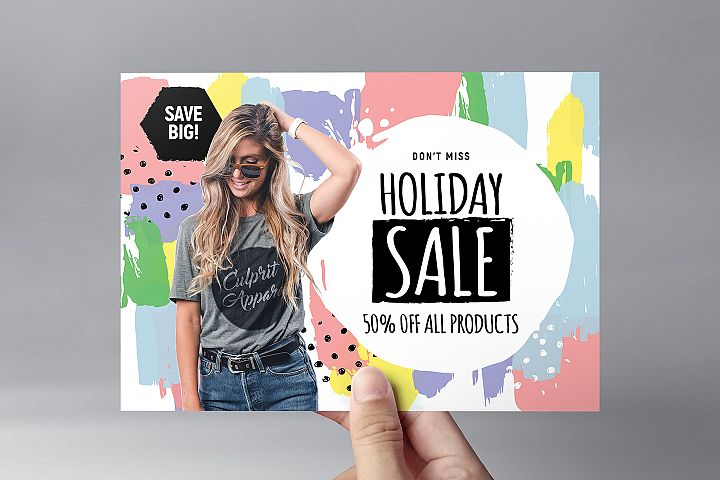Grand Sale Flyer Templates example image 2