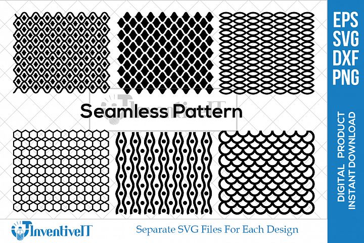 Mermaid Scales | Seamless Patterns | Chevron Scales |