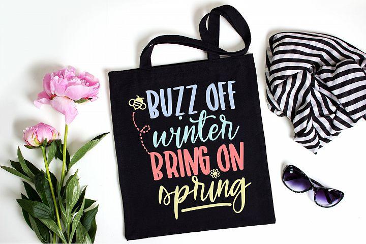 Bring on Spring | Spring | Spring SVG Cut File