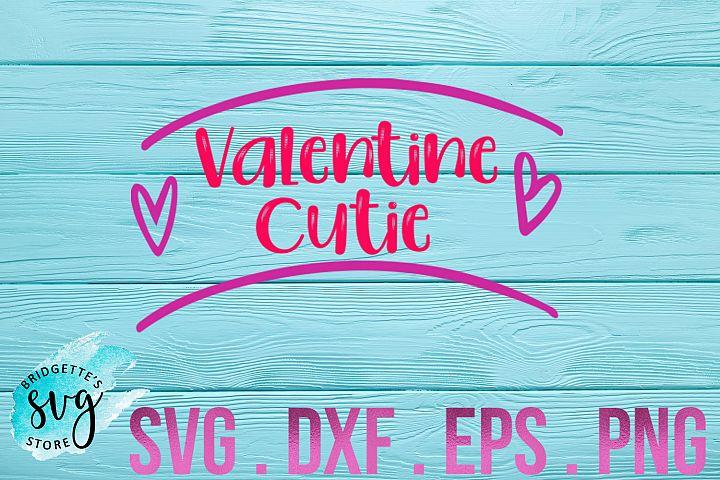 Valentine SVG Valentine Cutie SVG Cutting File