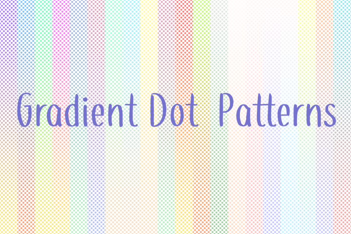 60 Gradient Dot Patterns