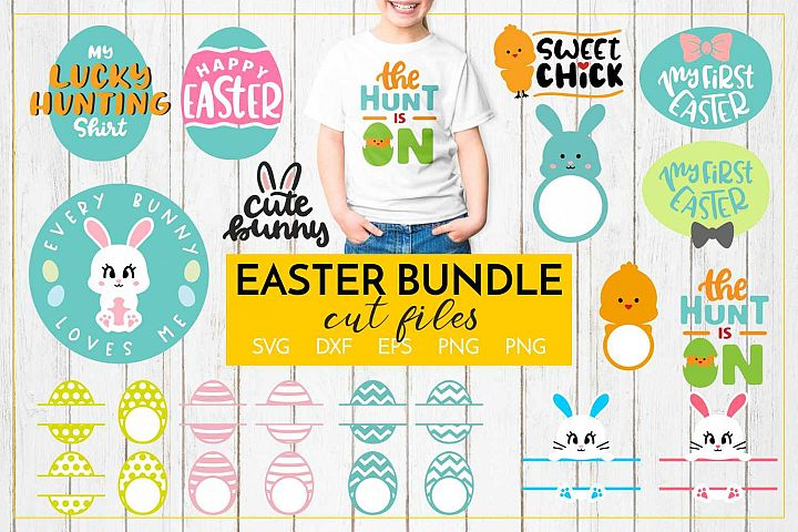 Easter Bundle CUT FILES - SVG DXF EPS PNG JPG
