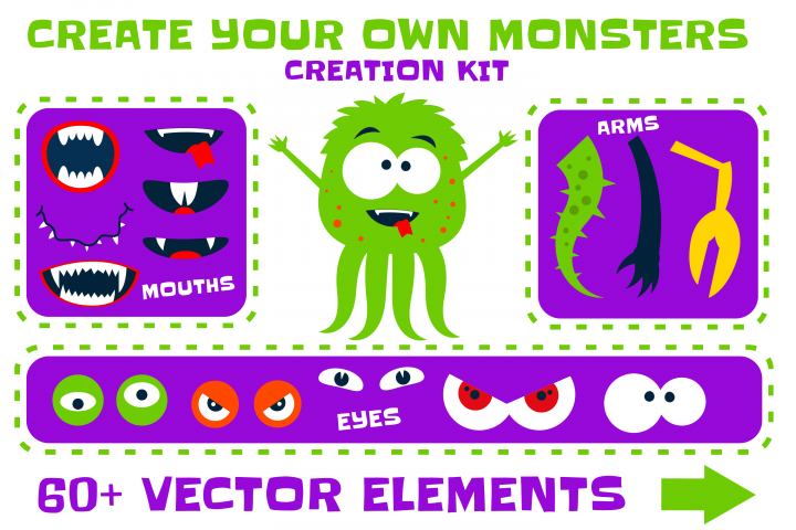 Create your own Monsters - Creation Kit