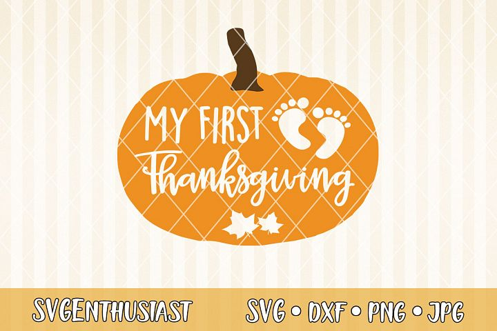 My first thanksgiving SVG cut file