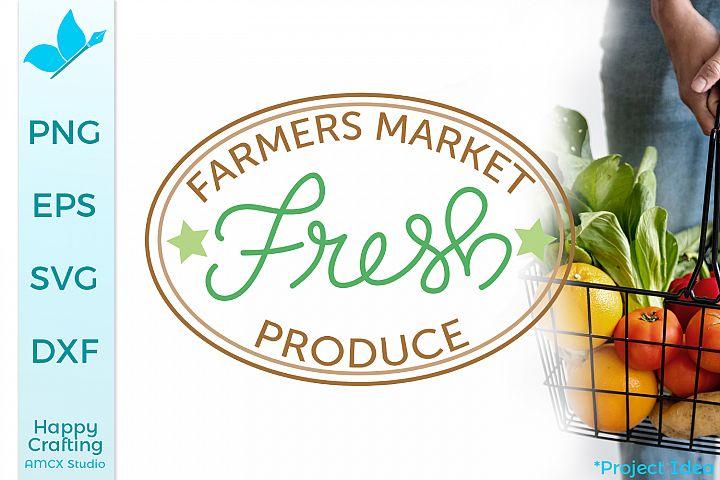 Farmers Market - A Farm Style Craft File